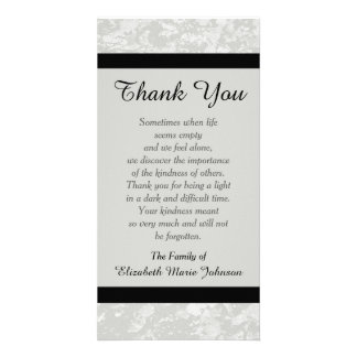 Death Thank You Cards Photocards Invitations Amp More