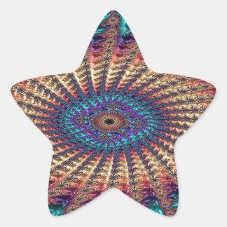 Sympathy of Faith Fractal Star Sticker