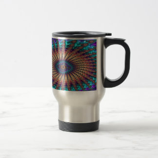 Sympathy of Faith Fractal Travel Mug
