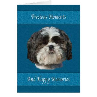 Sympathy on Loss of Pet, Shih Tzu Dog Card