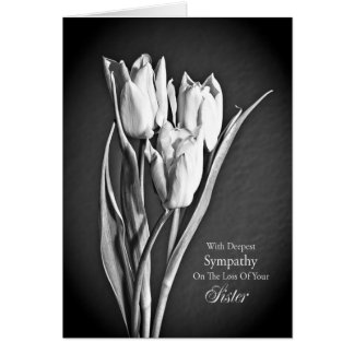 Sympathy on loss of sister. card
