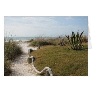 Sympathy - Seaside Pathway Card