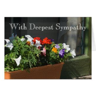 Sympathy Template Card
