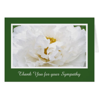 Sympathy Thank You Card