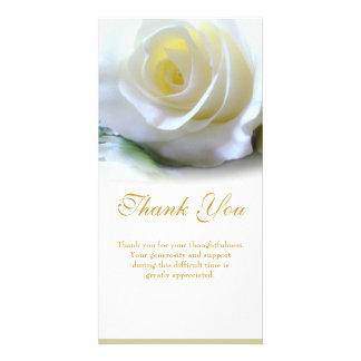 Sympathy Thank You Picture Card