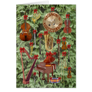 Symphonic Season's Greetings Card