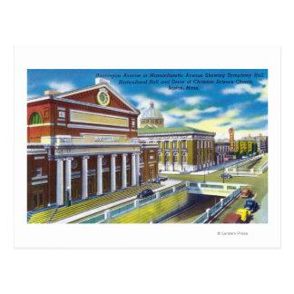 Symphony, Horticultural Hall Postcard