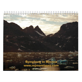Symphony in Silence Calendar