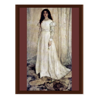 Symphony No 1 In Wiess Girls In White By James Abb Postcard