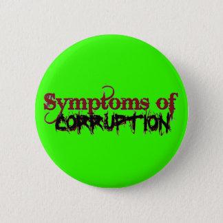 Symptoms of Corruption Button