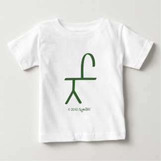 SymTell Green Confident Symbol Baby T-Shirt