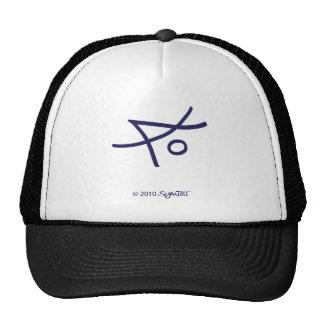 SymTell Purple Liberal Symbol Hats