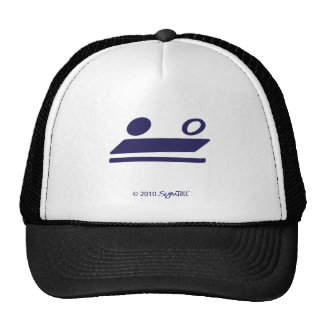SymTell Purple Self-Controlled Symbol Trucker Hat