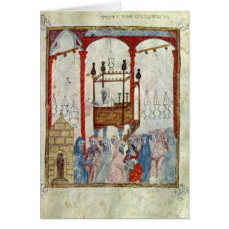 Synagogue, c.1350, Northern Spain Greeting Card