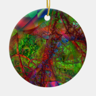 Synapse Ceramic Ornament