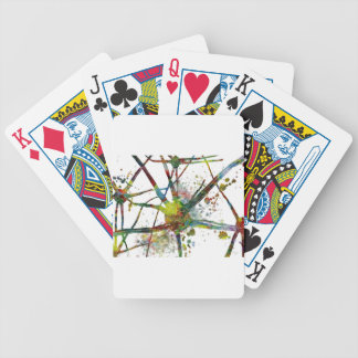 Synapses Medical Abstract Gift Bicycle Playing Cards