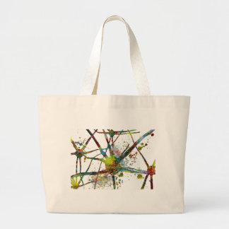 Synapses Medical Abstract Gift Large Tote Bag