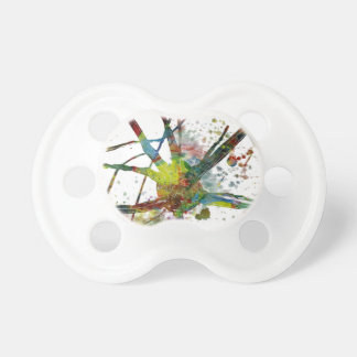 Synapses Medical Abstract Gift Pacifier