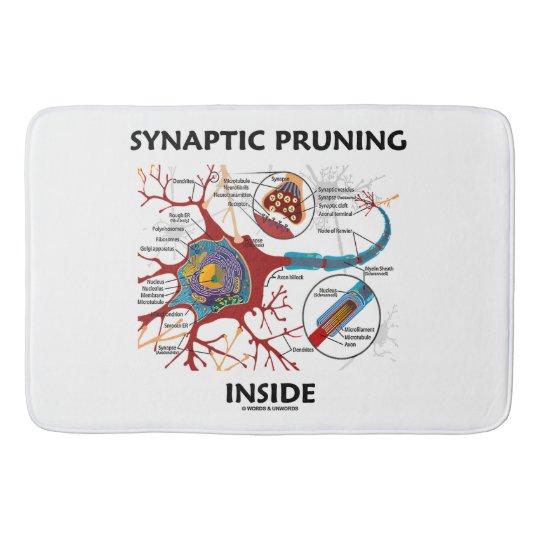 Synaptic Pruning Inside Neuron Synapse Neurology Bath Mat