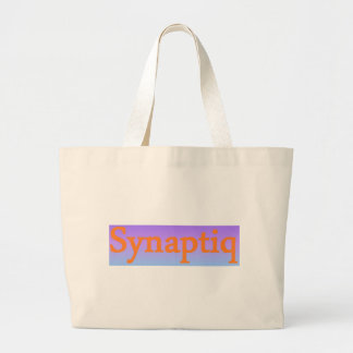 Synaptiq Society store Large Tote Bag