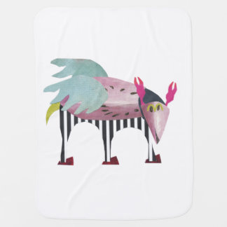 Synarv the space friend baby blanket