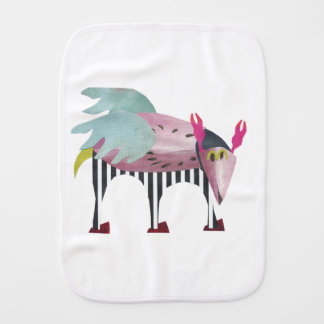 Synarv the space friend burp cloth