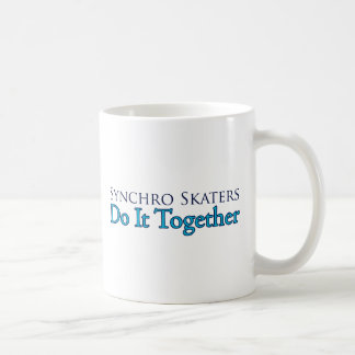 Synchro Skaters Do It Together Coffee Mug