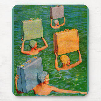 synchronized sea travel mouse pad