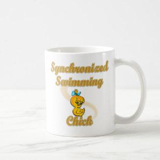 Synchronized Swimming Chick Coffee Mug