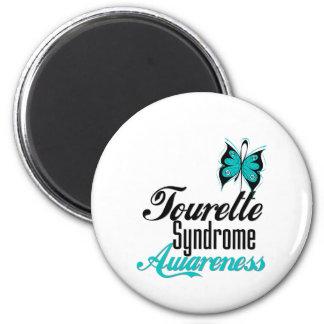 Syndrome de Tourette de conscience de papillon Magnets