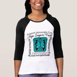 Syndrome de Tourette de conscience d'espoir de Tee-shirts