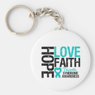 Syndrome de Tourette de foi d'amour d'espoir Porte-clé