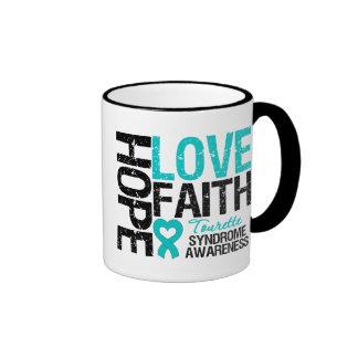 Syndrome de Tourette de foi d'amour d'espoir Tasses À Café