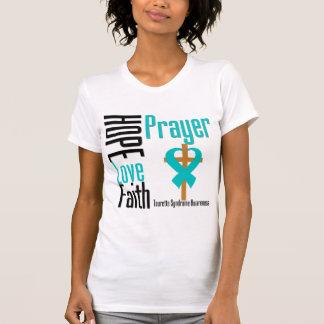 Syndrome de Tourette de prière de foi d'amour T Shirts