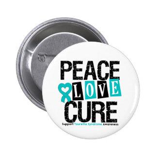 Syndrome de Tourette de traitement d amour de paix Pin's