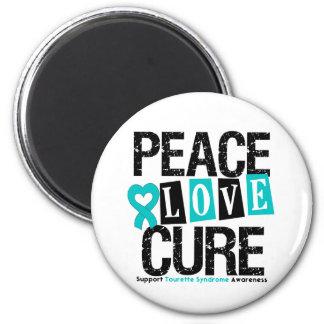 Syndrome de Tourette de traitement d'amour de paix Aimant