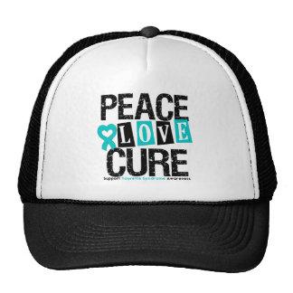 Syndrome de Tourette de traitement d'amour de paix Casquette Trucker