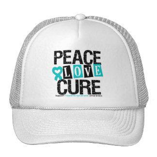 Syndrome de Tourette de traitement d'amour de paix Casquette De Camionneur