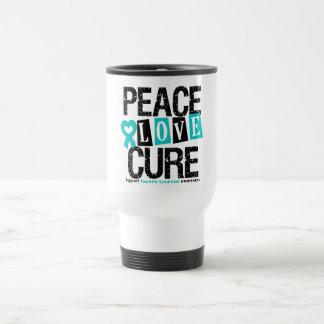 Syndrome de Tourette de traitement d'amour de paix Mugs