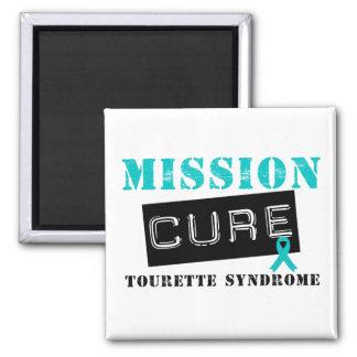 Syndrome de Tourette de traitement de mission Magnets Pour Réfrigérateur