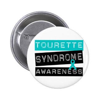 Syndrome de Tourette Macaron Rond 5 Cm