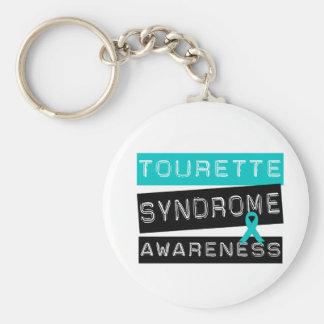 Syndrome de Tourette Porte-clé Rond