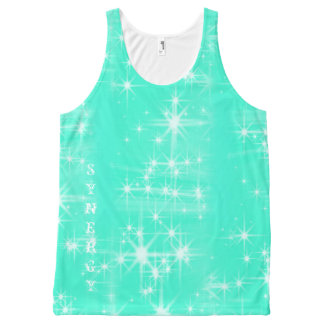 Synergy Teal Tank Top with Sparkles