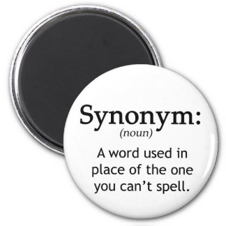 Synonym 2 Inch Round Magnet