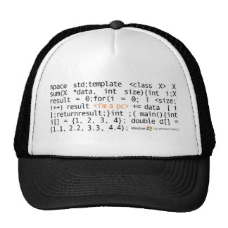 SYNTAX TRUCKER TRUCKER HAT