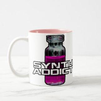 Synth Addict Two-Tone Coffee Mug