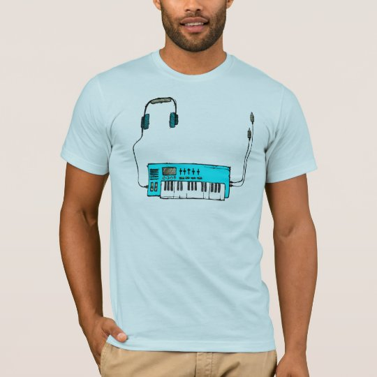 Synth (Aqua) T-Shirt