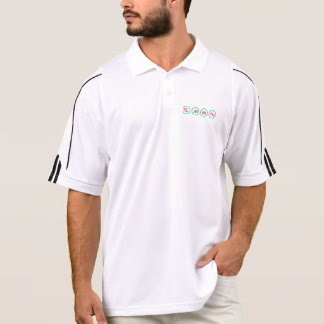Synth Waveforms Adidas ClimaLite® Polo Shirt