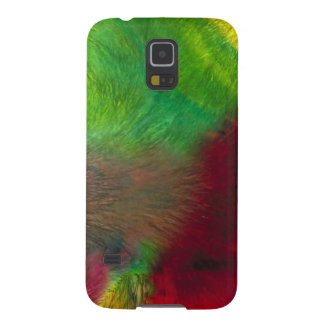 Synthesis  - Macro Art - Abstract Crystalline Patt Cases For Galaxy S5