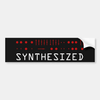 Synthesized Bumper Sticker